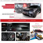The Elite Car Parts portfolio image