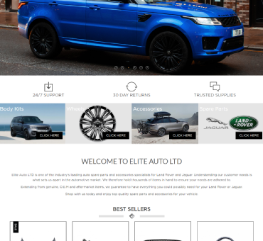Elite Auto LTD portfolio image